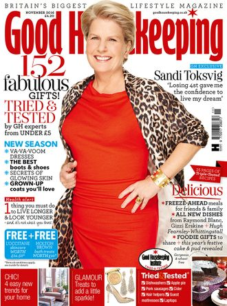 Good HouseKeeping Magazine November 2016 Sandi Toksvig Cover ЖЕНСКИЕ ИНОСТРАННЫЕ ЖУРНАЛЫ, INTPRESS