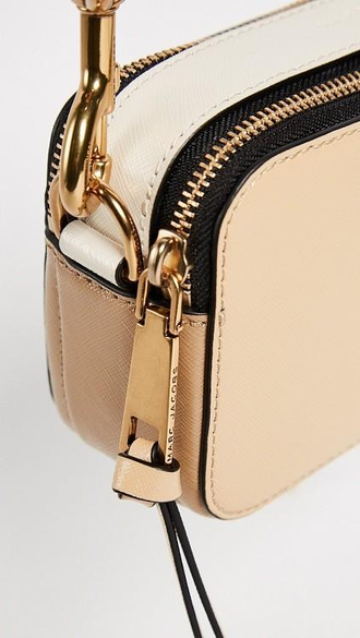 MARC JACOBS Snapshot Small Camera Bag Beige