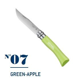 Нож Opinel №07 Green-Apple