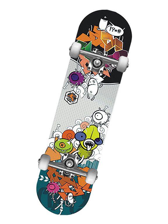 Любительский скейтборд MaxCity CRANK