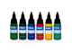 Intenze - Dragon Color Tattoo Ink Set (США 6 шт по 1 OZ - 30 мл.)