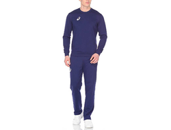 Купить Спортивный костюм Asics MAN KNIT SUIT STRONG NAVY 156855-0891 в темно-синем цвете фото