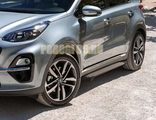 Пороги на Kia Sportage (2018-) Start Black