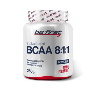 (Be First) BCAA 8:1:1 Instantized powder - (250 гр) - (ежевика)