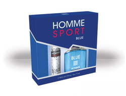Homme Sport Blue gift set for men