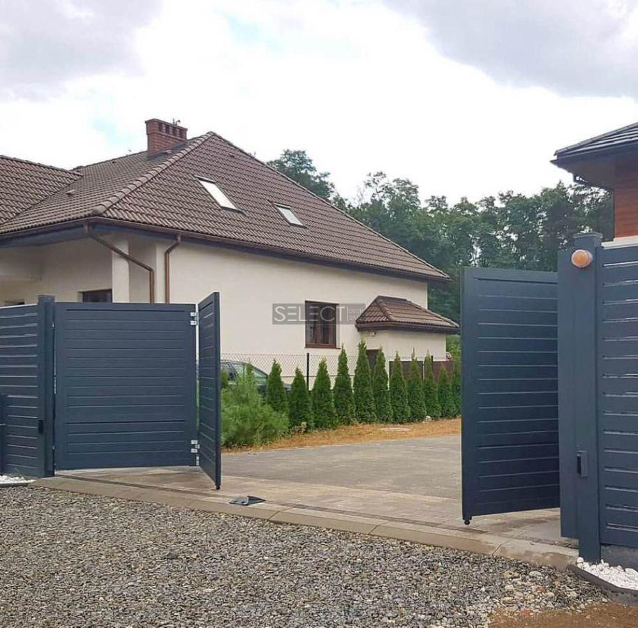 складные уличные ворота и - изготовление въездных систем