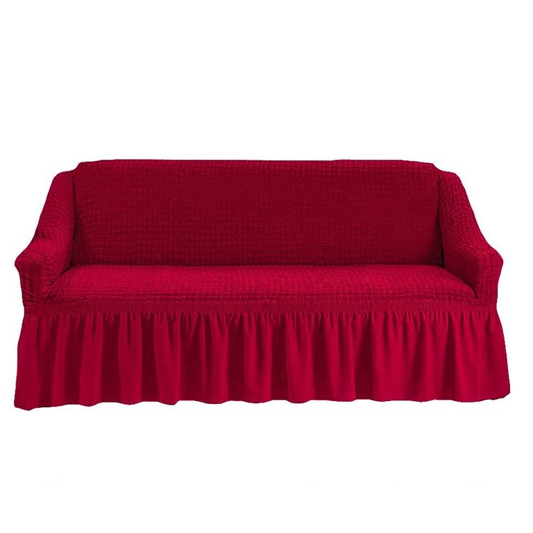 Чехол на диван, Бордовый 221