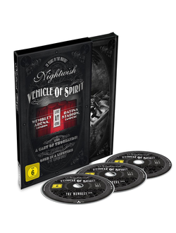 NIGHTWISH Vehicle of spirit 3-DVD Digibook