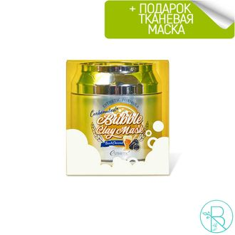 Маска для лица Esthetic House Esthetic Formula Carbonated Bubble Clay Mask