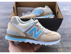 Крооссовки New Balance 574 Brown/Blue