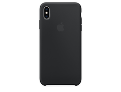 Чехол-накладка Apple Silicone Case iPhone Black