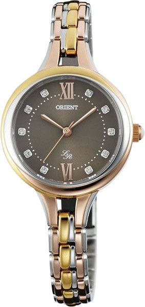Женские японские наручные часы Orient QC15002K купить в интернет ... 13ab4b028f7