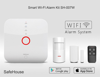 Беспроводная WI-FI сигнализация SH-007W-Smart (Photo-02)_gsmohrana.com.ua