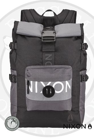Nixon Swamis Black/Dark Grey