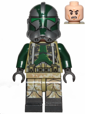 Clone Commander Gree (Black Lines on Legs)