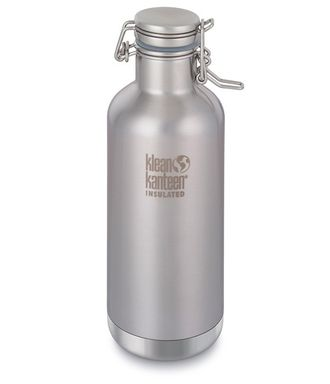 Термобутылка Klean Kanteen Growler 32oz (947 мл) Brushed Stainless