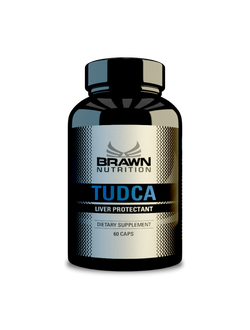 Brawn TUDCA (Tauroursodeoxycholic Acid 60 caps)