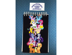 Блокнот My little pony, Май литтл пони 3