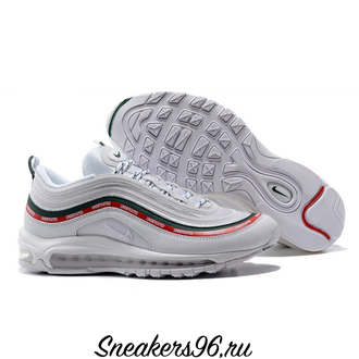 Nike Air Max 97 x Undefeated White Белые Унисекс (36-45)