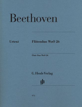 Beethoven Flute Duo WoO 26