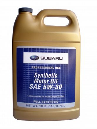 Масло SUBARU Synthetic 5W-30 3,78л