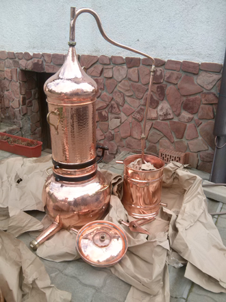 Аламбик с колонной 2л-100л Португалия (CopperCrafts) CopperCrafts