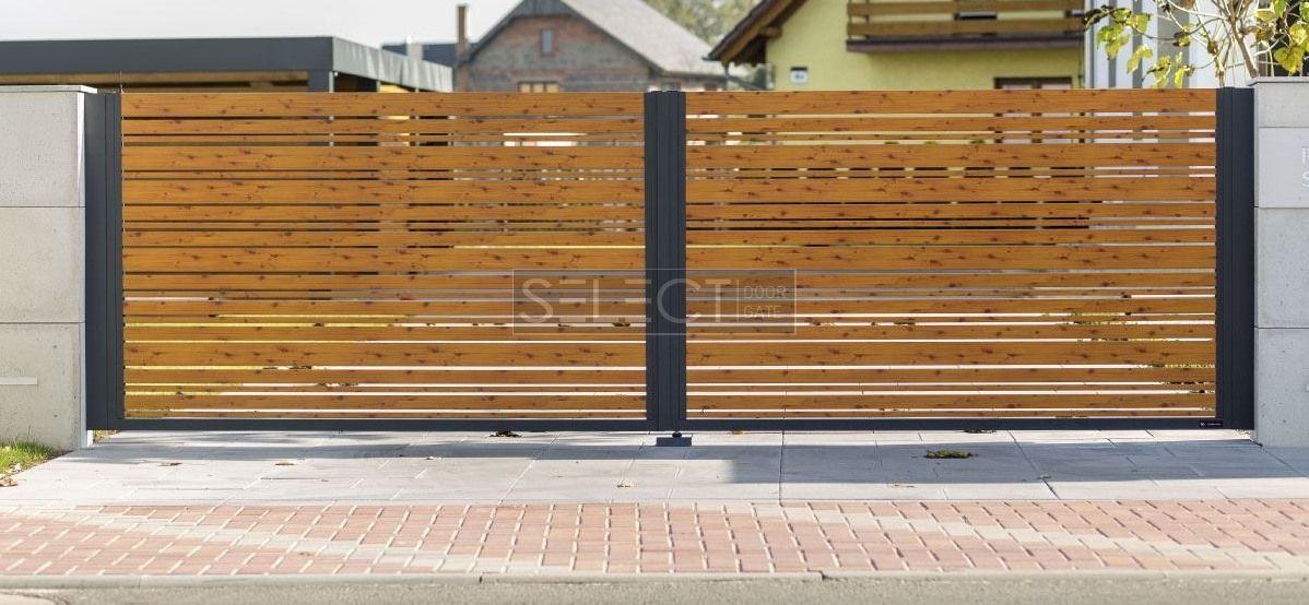 раздвижные и распашные ворота - заборы - производитель ограждений в Украине