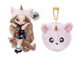 MGA Entertainment Кукла-загадка Na! Na! Na! Surprise 2-in-1 Fashion Doll & Plush Pom with Confetti Balloon, 565987