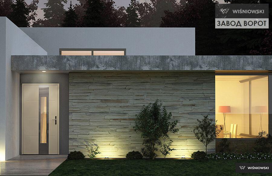 современные двери из алюминия - изготовление входных наружных конструкций