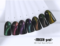 Гель-лак Fresh Prof 3D Cat Eye
