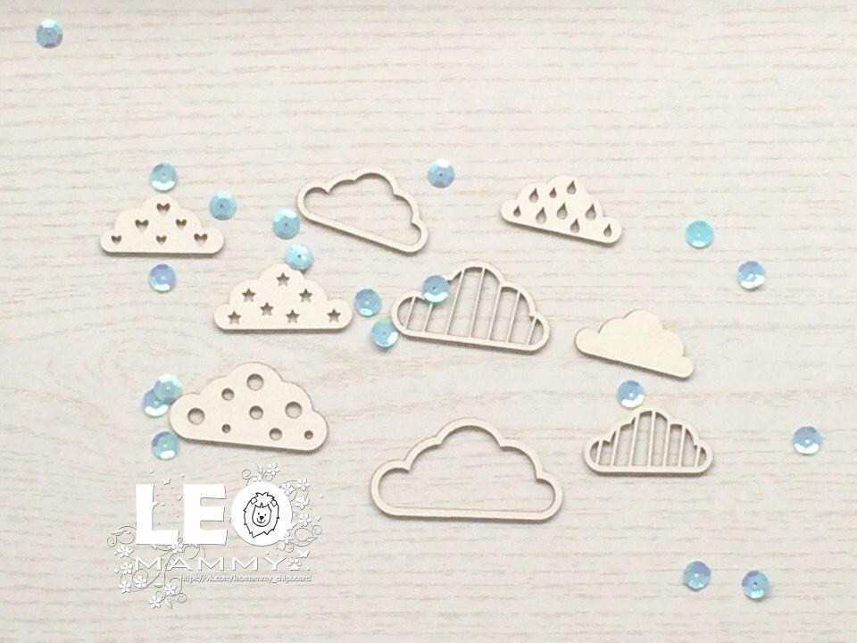 LM-P19 - набор облачков
