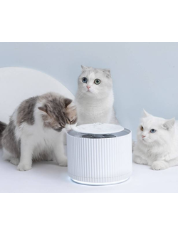Поилка Xiaomi Furrytail  smart cat water dispenser для животных