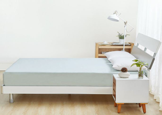 Простыня натяжная Xiaomi Everynight Antibacterial Mattress Cover 180*200см