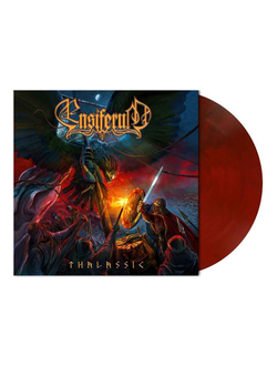 ENSIFERUM - THALASSIC LP Red Marbled