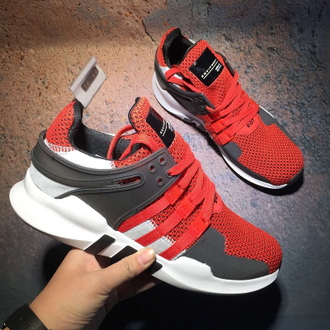 Adidas EQT Support ADV Red/Gray красно-серые