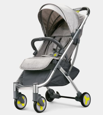 Прогулочная коляска Xiaomi BEBEHOO START lightweight four-wheeled stroller зеленая