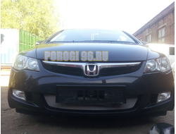 Защита радиатора Honda Civic 4D VIII 2006-2008 chrome