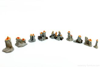 Dungeon Candles (PAINTED)