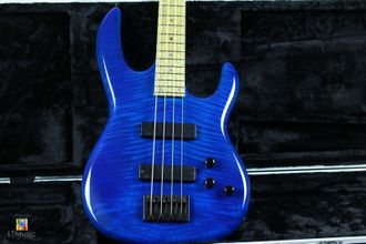 Carvin USA LB70 Sapphire Blue Bird Eye+ Case