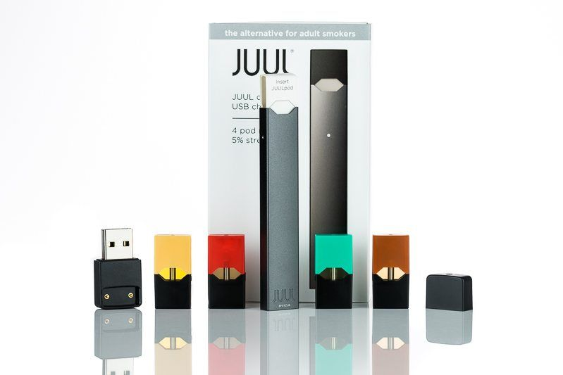 Электронные сигареты - Набор Juul Labs JUUL (8W, 200 MAh)(ОРИГИНАЛ)