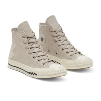 Кеды Converse All Star Chuck 70 Bosey Vltg Leather And Suede Grey