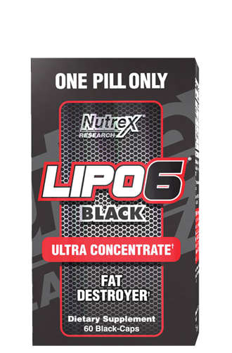 Lipo 6 Black Ultra Concentrate Nutrex, 60 капсул