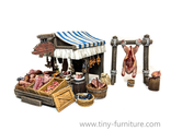 Meat market stall (PAINTED)