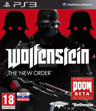 игра для PS3 Wolfenstein The New Order