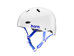 Шлем для водных видов спорта Bern женский Brighton H2O Gloss White