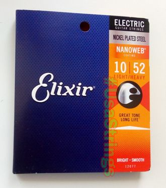 elixir 12077 nanoweb 10-52 light/heavy