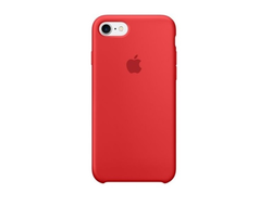 Чехол Apple Silicone для iPhone 7 (PRODUCT) RED