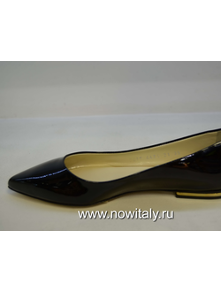 56a925dd9 Балетки лаковые черные poletto италия от производителя лакированных балеток  из кожи poletto италия