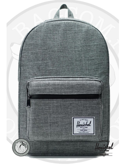 Herschel Pop Quiz Dark Chambray Crosshatch
