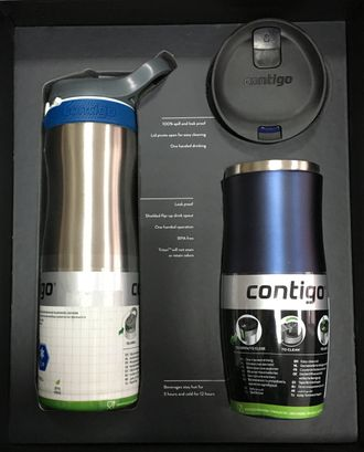 Подарочная набор Contigo Gift Box West Loop + Ashland Chill